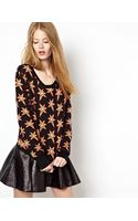Emma Cook Star Intarsia Knitted Sweater - Lyst