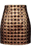 Balmain Mini Skirt - Lyst