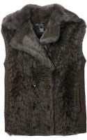 Marc By Marc Jacobs Fur Gilet - Lyst