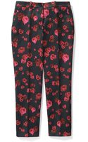 Michael Kors Collection Pansy Chine Print Duchesse Samantha Pant - Lyst