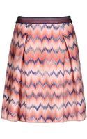 Missoni Mini Skirt - Lyst