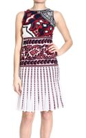 Roberto Cavalli Dress Sleeveless Knit-print - Lyst