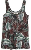 Madewell Linen Tank in Jungle - Lyst