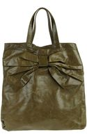 Red(v) Large Leather Bag - Lyst