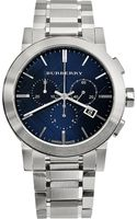 Burberry Atainless Steel Chronograph Watch - Lyst