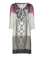 Etro Silk Printed Dress - Lyst