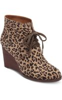 Lucky Brand Lucky Boots Swayze Wedge Booties - Lyst