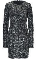 Rachel Zoe Adrienne Dress in Charcoral - Lyst