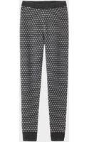 Toast Knitted Jacquard Leggings - Lyst