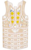Delpozo Embellished Patch Tunic Top - Lyst