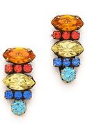 Dannijo Tuscan Earrings - Lyst