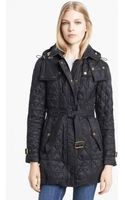 Burberry Brit Finsbridge Quilted Jacket - Lyst