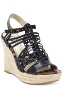 G By Guess Leeza Espadrille Platform Wedge Sandals - Lyst