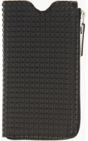 Maison Martin Margiela Black Studded Zippered Iphone 5 Case - Lyst