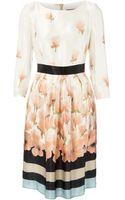 Max Mara Helmut Silk Printed Dress - Lyst
