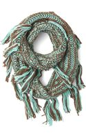 ModCloth Indulge in Comfort Circle Scarf - Lyst