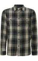 Denim & Supply Ralph Lauren Ward Fine Check Shirt - Lyst