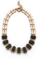 Elizabeth Cole Chunky Stone Necklace - Lyst