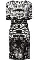 Mary Katrantzou Cross Bridge Printed Dress - Lyst