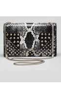 Saint Laurent Borsa Betty Mini Python Shoulder Bag - Lyst