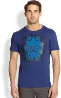 Versace Jeans Logoprint Cotton Tee - Lyst