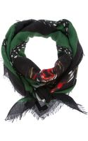 Givenchy Rottweiler Print Scarf - Lyst