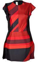 Paul Smith Colorblock Dress - Lyst