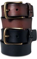 Tommy Hilfiger Leather - Lyst