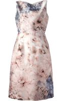 Valentino Floral Dress - Lyst