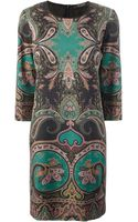 Etro Paisley Dress - Lyst