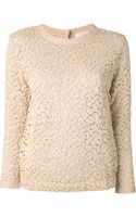 Forte Forte Lace Sweater - Lyst