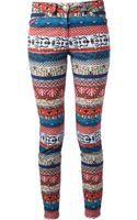 Kenzo Patterned Trouser - Lyst