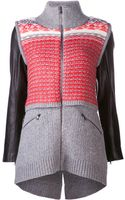Veronica Beard Cowl Neck Cardigan - Lyst