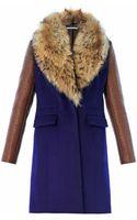 Diane Von Furstenberg Bell Coat - Lyst