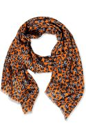 E. Tautz Oblong Scarf - Lyst