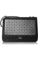 Poupee Couture Quilted Black Shoulder Bag - Lyst