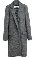 Emilio De La Morena Boiled Wool Coat - Lyst