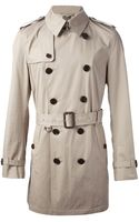 Burberry Brit Britton Trench Coat - Lyst