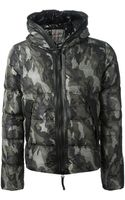 Duvetica Printed Padded Jacket - Lyst