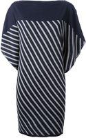 Jean Paul Gaultier Striped Jumper Dress - Lyst