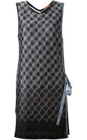 Missoni Tie Side Dress - Lyst
