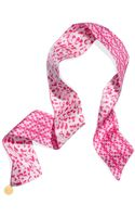 Tory Burch Skinny Multi Way Scarf - Lyst