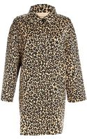 Weekend Max Mara Lega Leopard Coat - Lyst