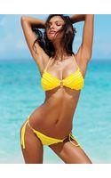 Victoria's Secret Ruffle Pushup Triangle Top Ruffle Multistring Bottom - Lyst