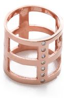 Campbell Geometric Ring  Rose Gold - Lyst