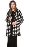 Alice + Olivia Mosley Oversized Cocoon Coat - Lyst