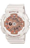 G-shock Ladies Babyg Shock Resistant Watch - Lyst