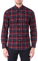 Ralph Lauren Slim Fit Checked Shirt - Lyst