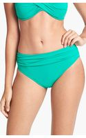 Tommy Bahama High Waist Sash Bikini Bottoms - Lyst