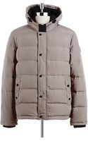 Guess Hooded Down Puffer Coat - Lyst